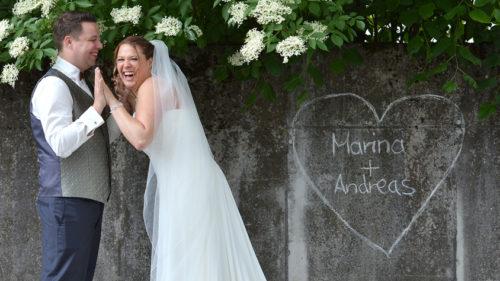 Hochzeitsfotos lebendig