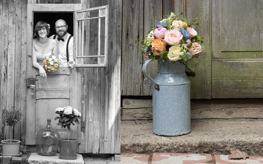 Hochzeitsfotos vintage