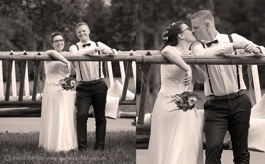 Hochzeitsfotos Paarbilder vintage