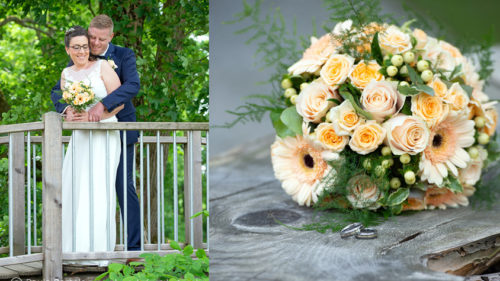 Hochzeitsfotos Paarbilder in der Natur