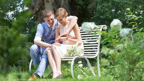 Hochzeitsfotos natürlich
