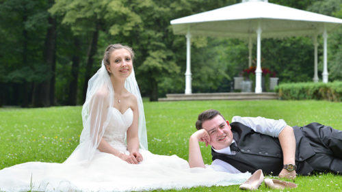 Hochzeitsserien on-Location Natur