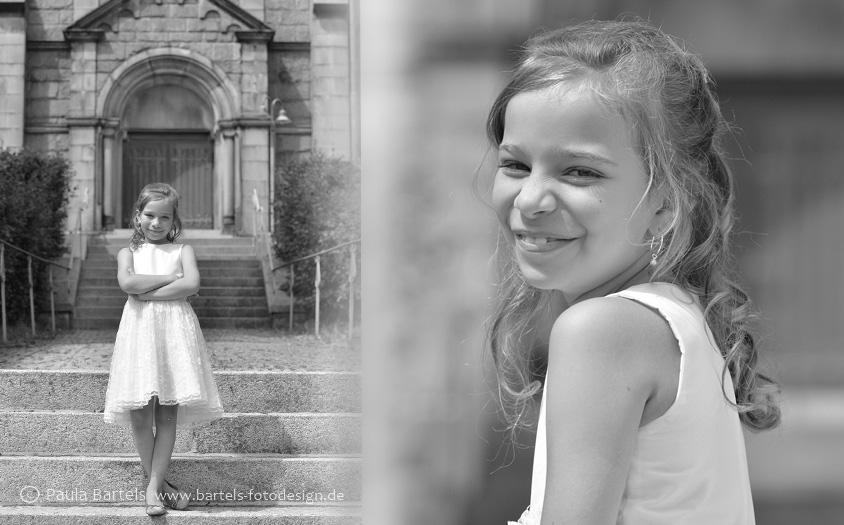 Kommunionsfotos in der Kirche